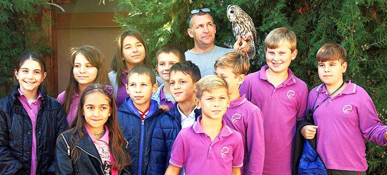 В Спасителен център за диви животни