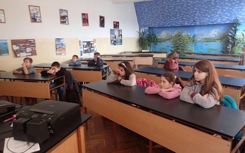 """Децата от ОУ """"Св.Никола"""" отбелязват Световния ден на влажните зони"""