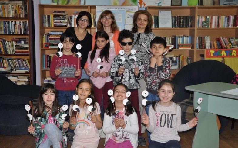 Честит щърков ден от детската читалня